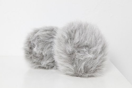 "Star Trek: Original Series 8"" LARGE GREY DUAL SOUND ELECTRONIC TRIBBLE REPLICA PLUSH - Sound And Touch Activated"