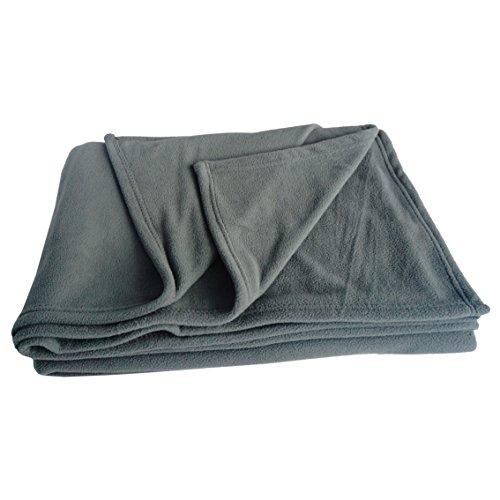 sxbora Weiche Microplüschdecke Queen Size Fleece Warm Fuzzy Überwurf Decke für Bett Sofa Leicht, 350 g/m² Twin (60
