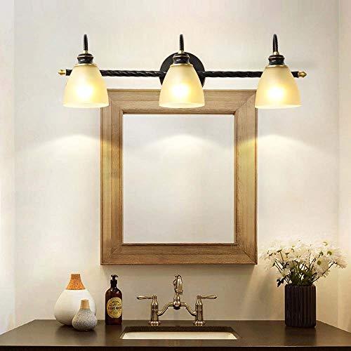 BuyBuyBuy Alle Kupfer Spiegelschrank Vorne Amerikanische Spezielle Spiegel Lampe Leuchte Bad WC Beschlag Kosmetische Eitelkeit Lampe Leuchtet W62 * H20 * D19cm Entdecke das Licht - 6-lampe-eitelkeit Licht