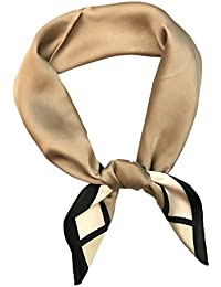 9f00a0fd188 Jixin4you Femme Bandana Foulard Carré Léger Vogue Taille ...