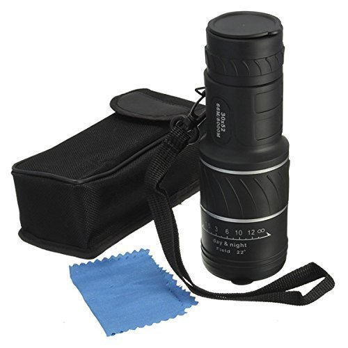 grandey Mini 30 x 52 Dual pour Focus Objectif optique Vision Jour/Nuit armoring Télescope Monoculaire de voyage Tourisme Scope Jumelles