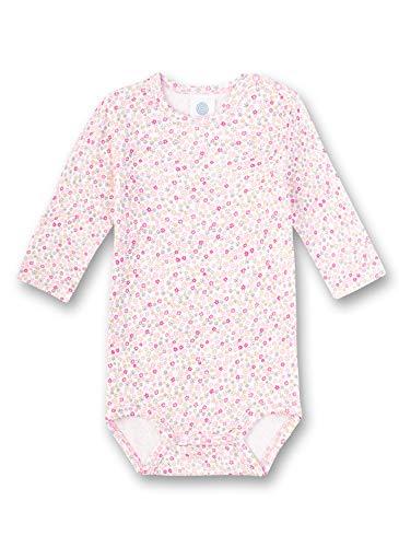 Sanetta Baby-Mädchen Langarmbody Spieler, Rosa (rosa 3813), 62 (Herstellergröße:062)