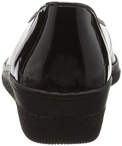 GaborPetunia - Scarpe donna Nero (Black (Black Leather/Patent Ht))