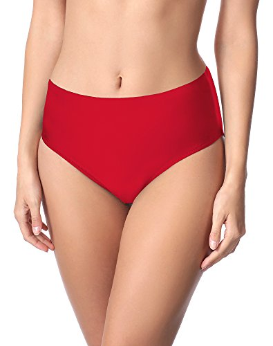 Merry Style Damen Bikini Unterteil M72W (Rot(4150), 52)