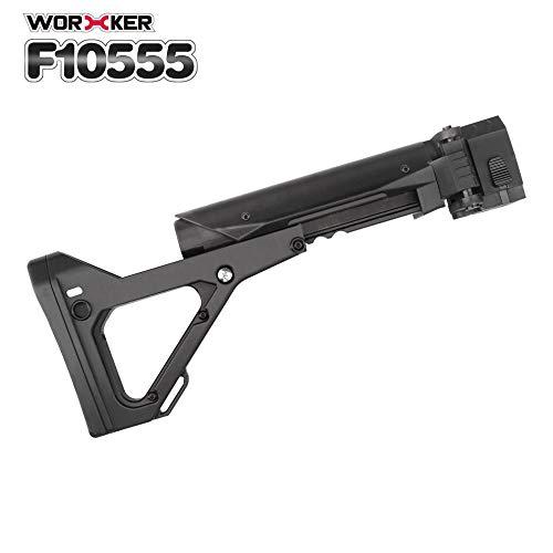 Worker Mod Hombro Stock 3D Impresión Plegable Cola Stock N-strike negro