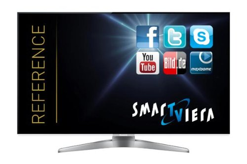 Panasonic TX-L55WT50E 140 cm (55 Zoll) Fernseher (Full HD, Triple Tuner, 3D, Smart TV) Panasonic Hd-plasma-tv