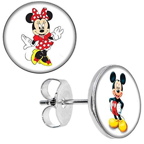Selles® Nina - Ohrstecker Minnie ❤️ Mickey