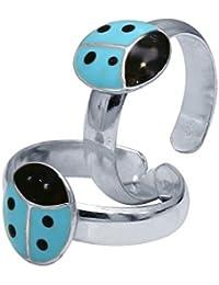CS Jewellers Bravura Silver Toe Ring