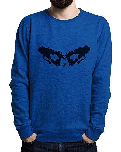 Need Doctor Reale Large Lilij Blu Psichology Men's Sweater X y8OvnmN0wP