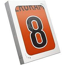 1998-2000 camisa casera holandesa firmada por Dennis Bergkamp. En caja de regalo