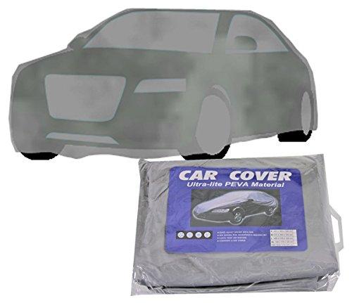 iwea Autoplane Car Cover Autoabdeckung Auto Abdeckplane Autogarage Vollgarage Ganzgarage Wasserdicht Für Winter & Sommer, XL