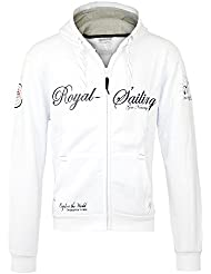 GEOGRAPHICAL NORWAY Hombre Diseñador Capucha Chaqueta - FIGHTER 2 -