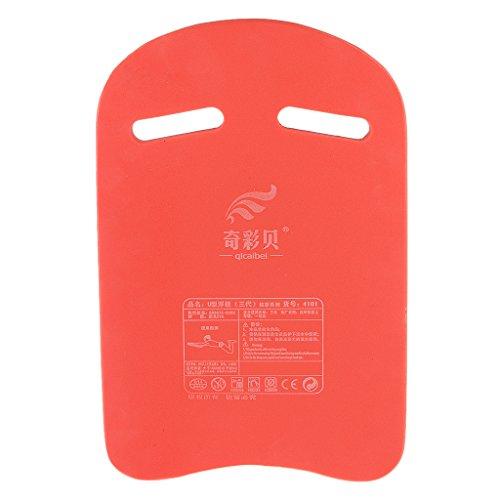 Hohe Qualität Schwimmbrett Kick-Board Schwimmer Training Bord für Kinder Erwachsene Schwimm Anfänger - Rot, L