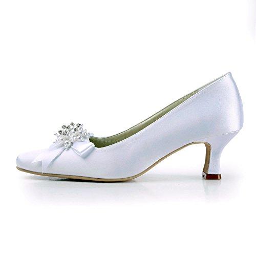 Minitoo , Escarpins pour femme White-6.5cm Heel