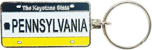 Pennsylvania Nummernschild Souvenir Schlüsselanhänger