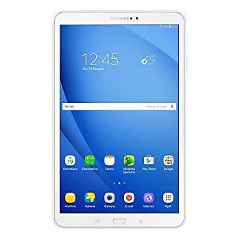 "Samsung Galaxy Tab A - Tablet libre Android (10.1"", 8 MP, 2GB RAM, 16 GB, 4G), color blanco"