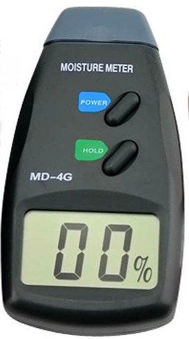 Numérique 4 broches testeur Mètre Humidité du bois Humidité Détecteur d'humidité 5% – 40% ttmd-4g
