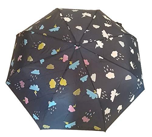 G4G Paraguas Que Cambia de Color con la Lluvia