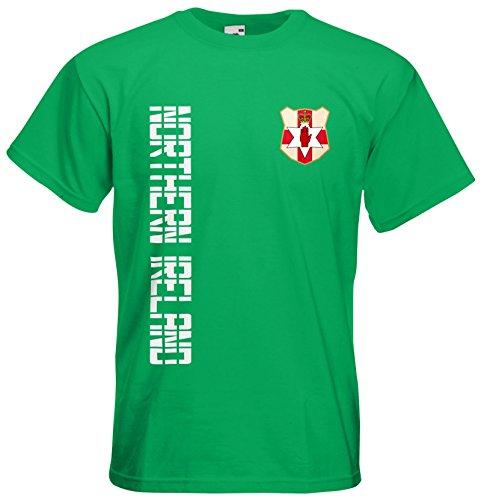 Nordirland Northern Ireland EM 2016 T-Shirt Trikot Maigrün