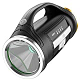 LED wiederaufladbare Handscheinwerfer High-Power Super Bright 9000 Lumen Super Bright Wasserdichter Outdoor-Scheinwerfer Tasc