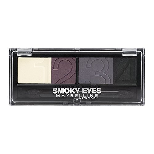 Maybelline New York Lidschatten Eyestudio Quattro Palette Amethyst Smoke 33 / Eyeshadow Set in...