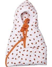 New Born Cherry Wrapper Hodded Sleeping Bag (Orange)