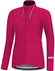 GORE RUNNING WEAR Damen Soft Shell Langarm-Lauf-Jersey, GORE WINDSTOPPER, AIR LADY WS SO Shirt long, SWLAIR