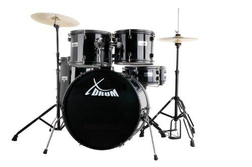 Batteria acustica completa -XDrum Rookie - finitura nero
