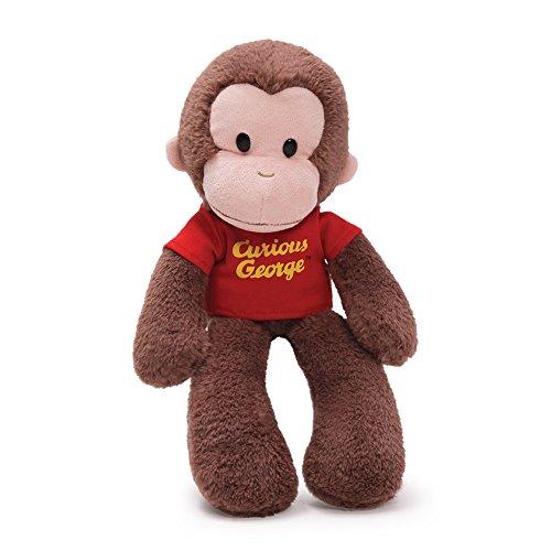 Gund Curious George Floppy Take a Long - Coco der Affe - Plüschtier, Stofftier, 38cm aus USA - Spielzeug Affe Der George