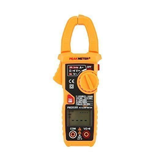 LAOYE Zangenamperemeter Digital Strommesszange Zangen Multimeter Voltmeter AC DC stromprüfer stromtester mit Automatische Scan LCD Display und Hintergrudbeleuchtung
