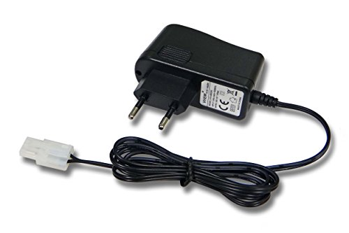vhbw 220V Netzteil Ladegerät Ladekabel für RC Akku mit Tamiya Stecker Mini und Einer Spannung von 9.6V (Quad-lipo 250)