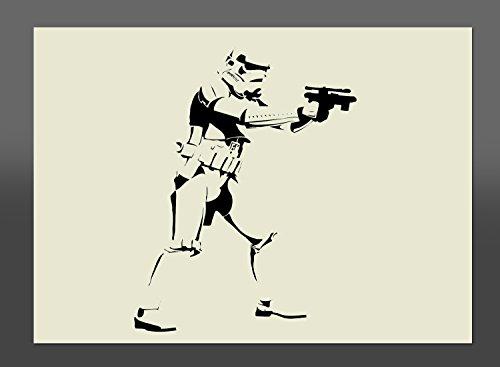 Star Wars Stormtrooper Mylar plantilla para estarcir A4297x 210mm decorativo, muebles plantilla para estarcir, tela plantilla para estarcir