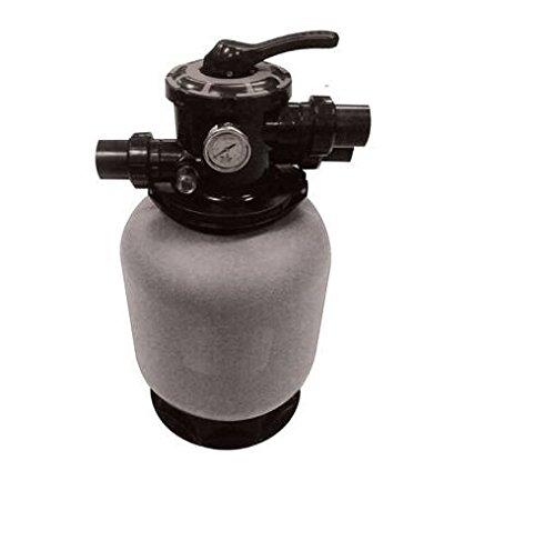 CPA piscine – Panama Top 650 portée 15 m3 filtre à sable piscine avec manomètre et Valve 6 V