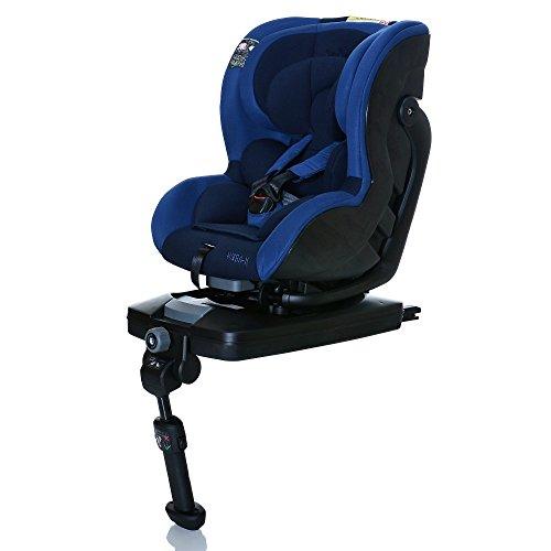 LCP Kids Reboarder Autokindersitz Wega-X mit Isofix Base 0-18 kg Gruppe 0+/1 ECE R44/04 - In und gegen Fahrtrichtung - ROYAL BLUE