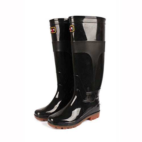 Ultra High Boots Regen Stiefel Männer Anti-Rutsch-Schuhe Wasserdichte Stiefel Gummi Autowaschschuhe...