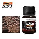 AMMO Munition mig-1002Emaille (35ml) Tracks Waschen, Mehrfarbig