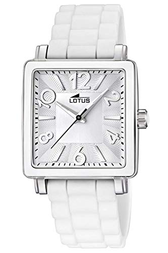 Lotus Glee Womens Analogue Quartz Watch with Rubber Bracelet 15741/1