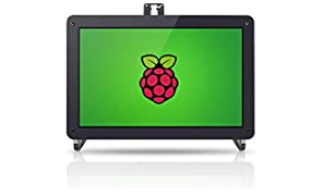 SUNFOUNDER 10.1'' Zoll IPS Monitor-Raspberry Pi 10.1 Inch HDMI IPS LCD Monitor Display High Resolution 1280×800 Camera Holder Stand for Raspberry Pi 3 Model B, 2 Model B, and 1 Model B+