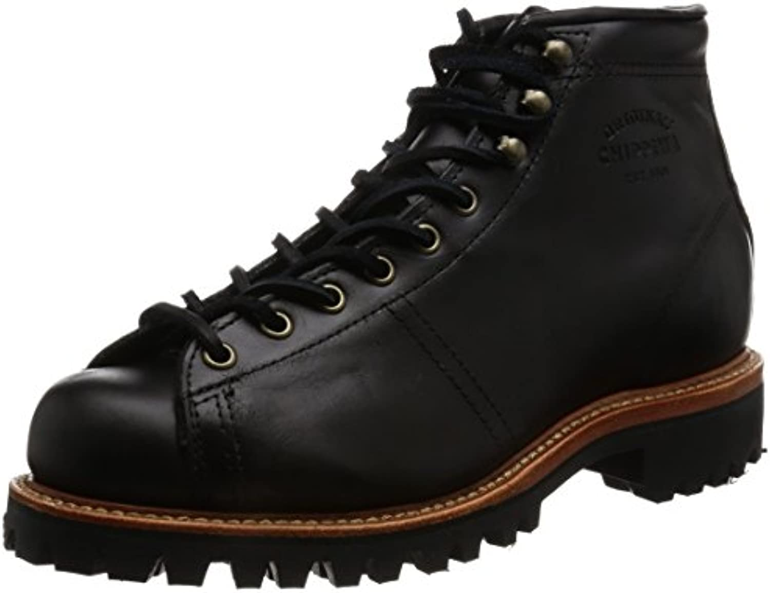 Chippewa Mens 1901G42 Black Leather Boots 43.5 EU