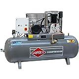 Airpress® compressore ad aria compressa HK 1500-500 (7,5 kW, max. 14 bar, 500 litri di caldaia) connettore di alimentazione 400 V