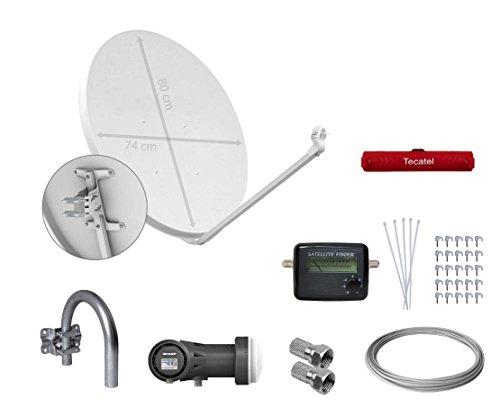 tecatel-kit-parabolica-80-cm-soporte-lnb-sharp-cable-conectores-grapas-bridas-y-buscador