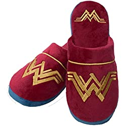 Wonder Woman DC Comics Movie Logo Zapatillas Mule