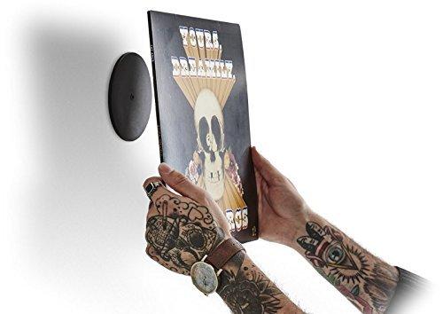 Twelve Inch Original – Unsichtbare Wandhalterung für Album Cover – Zur Anbringung Ihrer Schallplatten und Schallplattenhüllen als Wanddekoration – Ohne Rahmen oder sichtbare Beschläge. Vinyl ist Kunst