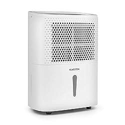 Klarstein DryFy 10 • Luftentfeuchter • Raumentfeuchter • 240 Watt • 10 L/24h • für 15-20 m² (bis 50 m³) Raumgröße • Silent-Modus • leise • weiß