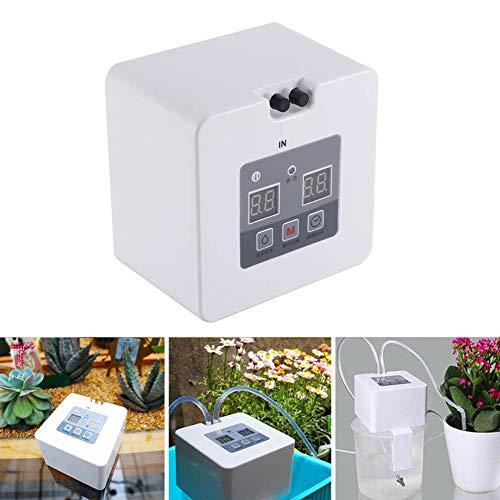 grizack kit di irrigazione a goccia automatico fai-da-te usb impianto di irrigazione a batteria per piante da appartamento
