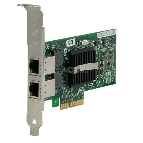 HP 412648-B21 NC360T PCI-E Dual Port Server Adapter Gigabit, Verde