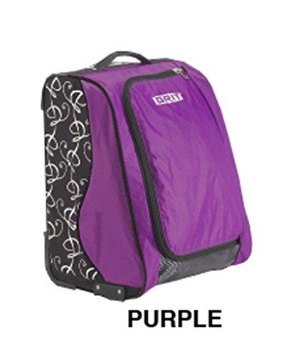 GRIT SPECIAL SKATING TOWER BAG 20' (violeta) Maleta-Trolley especial para patinaje dispuesta como un armario