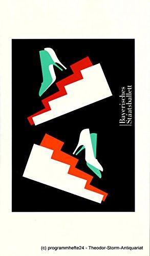 Programmheft A Cinderella Story. Ballett von John Neumeier. Premiere 4. April 2000