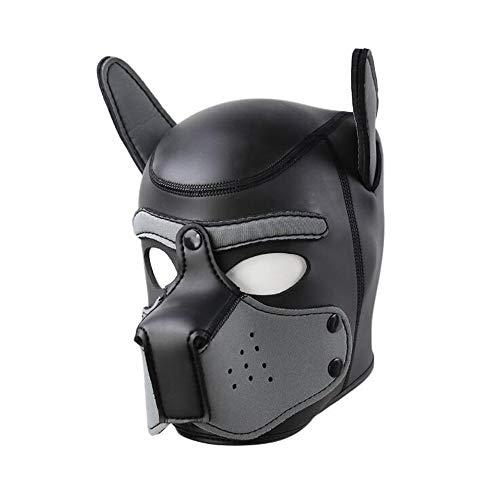 nice shop now Gesichtsmaske für Hunde und Welpen, mit Kapuze