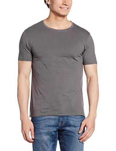 Flying Machine Men's T-Shirt (8907259691701_FMTS6245_Medium_Grey)